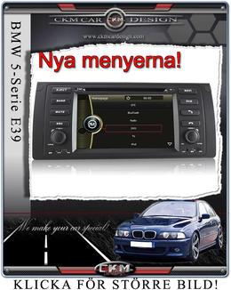 DVD-GPS-iPOD-Bluetoth-Touch Screen till E39/X5