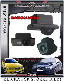 BMW Backkamera till E39/E46